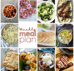 Your delicious Weekly Meal Plan {Week 82} is myself and 10 other bloggers bringing you a full week of simple recipes including dinner, sides dishes, and desserts!