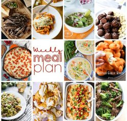 Weekly Meal Plan {Week 83} – myself and 10 wonderful food bloggers bringing you a full week of recipes including dinner, sides dishes, and desserts!