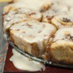 Carrot Cake Cinnamon Rolls with Mascarpone Icing recipe made from scratch is perfect for your Easter brunch or just when you're craving the delicious spices and flavors of carrot cake!