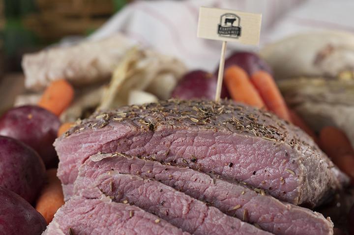 Irish Braised Corned Beef Brisket Wishes And Dishes