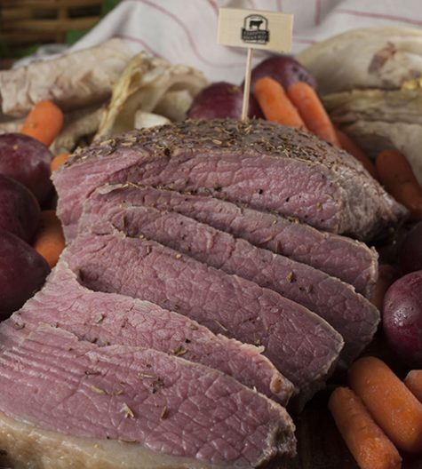 Irish Braised Corned Beef Brisket recipe is great for St. Patrick's day or any special occasion dinner. The meat is tasty & cooked slowly in the oven for maximum flavor!