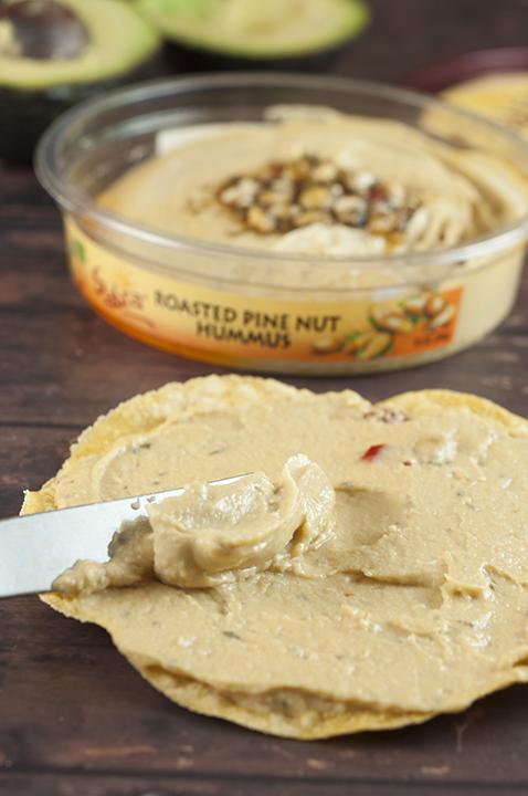 Gluten-free, vegan Roasted Pine Nut Sabra Hummus photo.