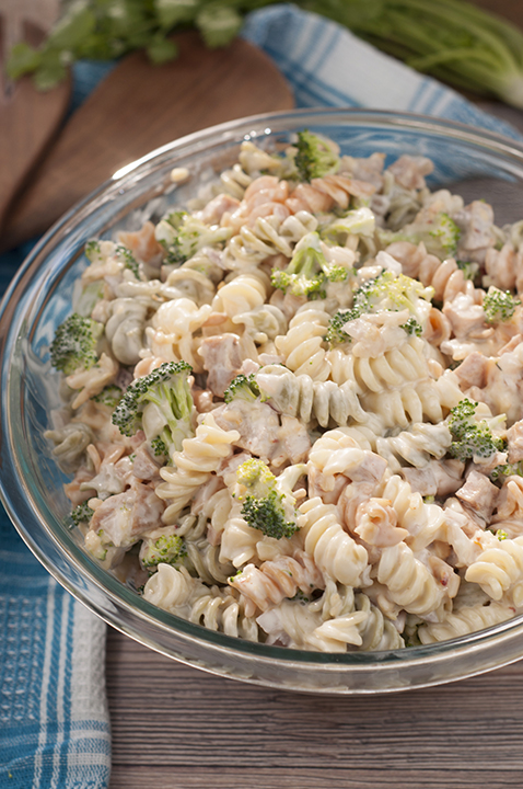 Sausage Broccoli Cheddar Pasta Salad is a side dish recipe tossed with a creamy, slightly sweet dressing that is pefect for any picnic or BBQ and tastes great every time!