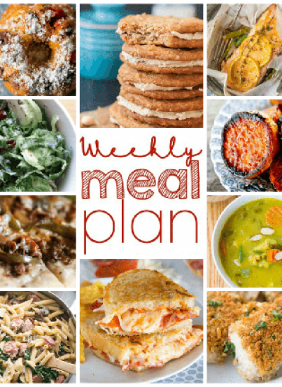 This Weekly Meal Plan {Week 92} is packed full of recipes including dinner, sides dishes, and desserts! You will even find some last-minute Easter ideas!