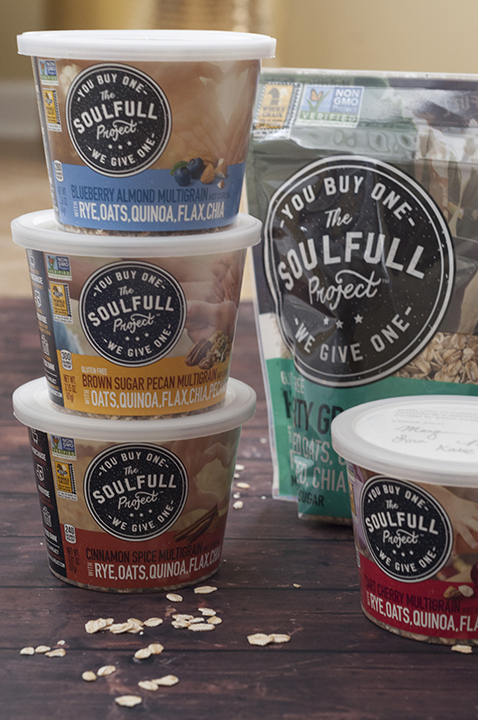 The Soulfull Project Mission to donate a serving of hot cereal to a local food bank for every serving purchased at Wegmans.
