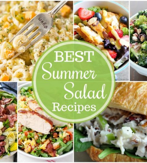 The Best Summer Salad Recipes - including pasta, potato and fruit salads - are the perfect sides for grilling out, picnics and potlucks, or just every day!