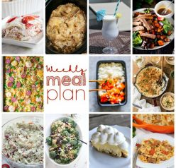 Weekly Meal Plan {Week 102} - 10 great bloggers bringing you a full week of summer-friendly recipes including dinner, sides dishes, and desserts!