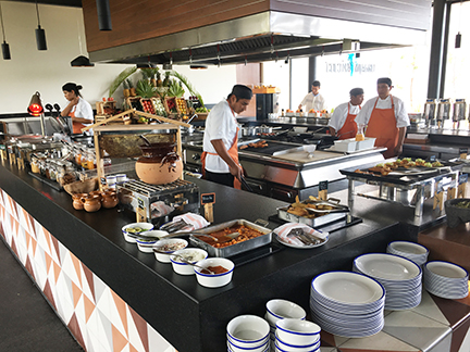 Cocina Milagro breakfast buffet, Andaz Mayakoba.