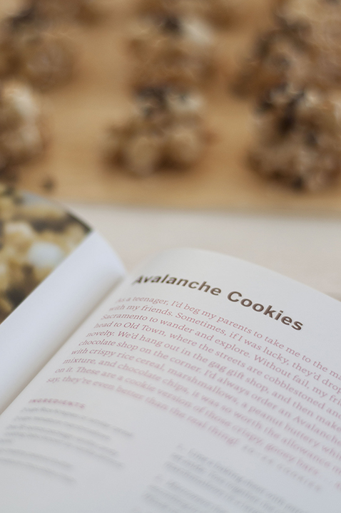 "No Bake Avalanche Cookies are gluten free and out of the book ""Two in One Desserts"" cookbook from Hayley Parker, food blogger."