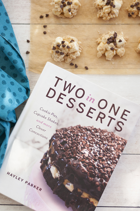 Two in One Desserts Cookbook written by Hayley Parker of the Domestic Rebel.