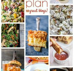 Weekly Meal Plan {Week 106} – 10 great bloggers bringing you a full week of super easy summer recipes including dinner ideas, sides dishes, and desserts!
