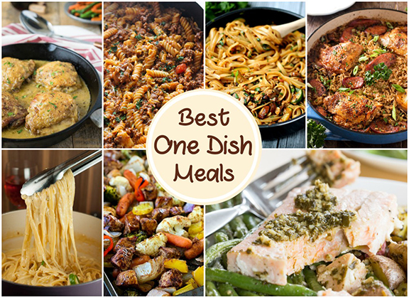 13 Easy One Pot Meals - recipes that are simple enough for weeknights but still special enough to serve to dinner guests! The best part? Easy clean up!