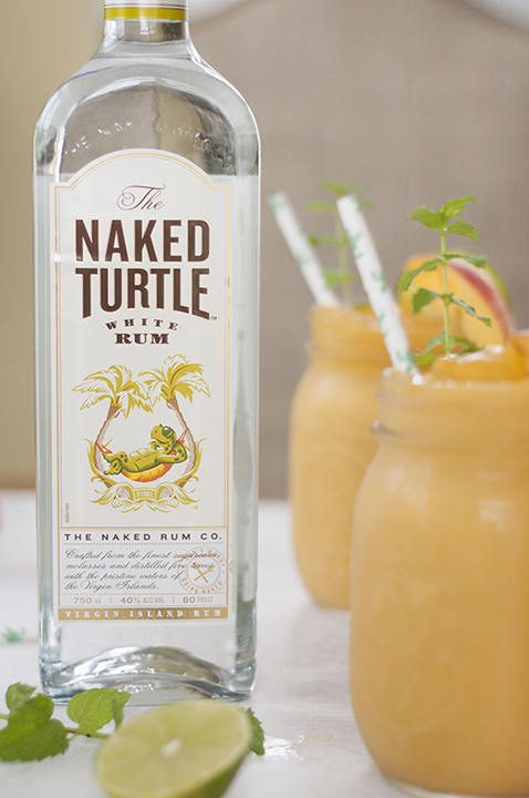 The Naked Turtle White Rum saves baby sea turtles.