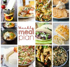Weekly Meal Plan {Week 111}– 10 great bloggers bringing you a full week of recipes including dinner, sides dishes, and desserts!