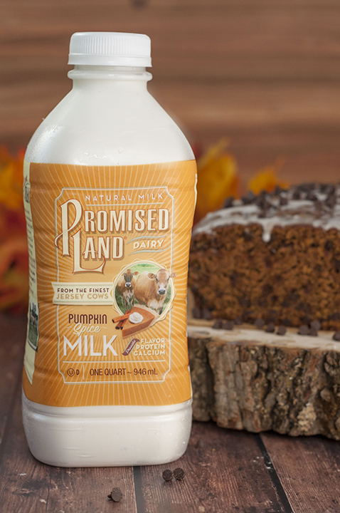 Image of Promised Land Dairy Pumpkin Spice Dairy Milk