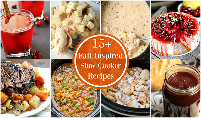 15+ Fall Inspired Recipes - round out your fall holidays and celebrations with these festive main course, side dish, drink, and dessert recipes!