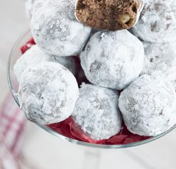 EasyHoliday Christmas Rum Balls are sweet, dense, and the perfect addition to your holiday dessert trays! This traditional recipe will have all of the adults raving!