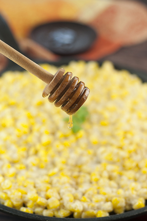 Honey Butter Creamy Skillet Corn recipe will be the most popular dish at Thanksgiving, Christmas, or Easter! You can also make this for an easy weeknight side dish!