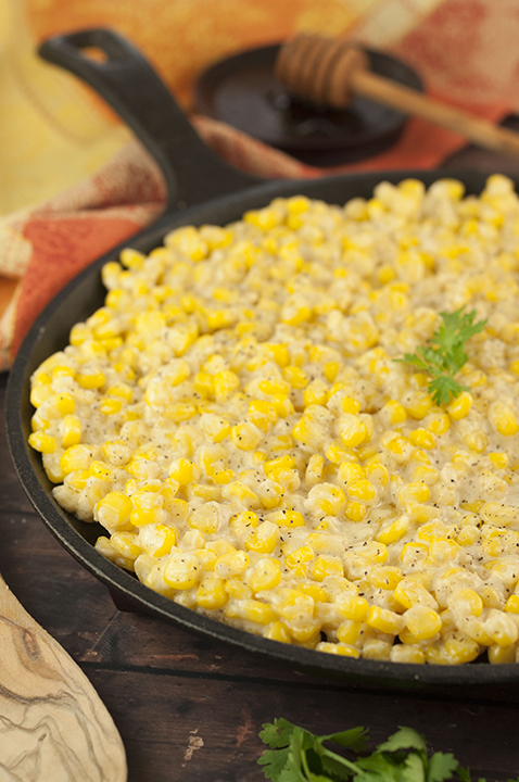 Honey Butter Creamy Skillet Corn recipe will be the most popular dish at Thanksgiving, Christmas, or Easter! You can also make this for an easy weeknight dinner side dish!