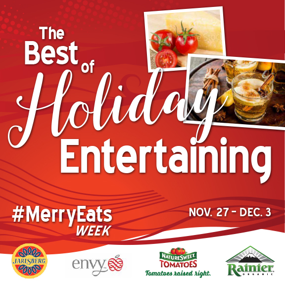 The best of holiday entertaining giveaway.