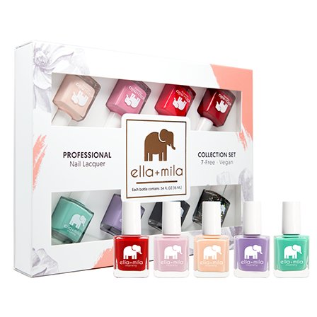 Ella Mila Vegan Nail Polish for pregnancy - cruelty-free.