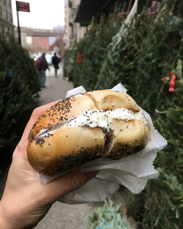 La Bagel Delight in DUMBO, Brooklyn, NYC. Where to Eat and What to do in New York City.