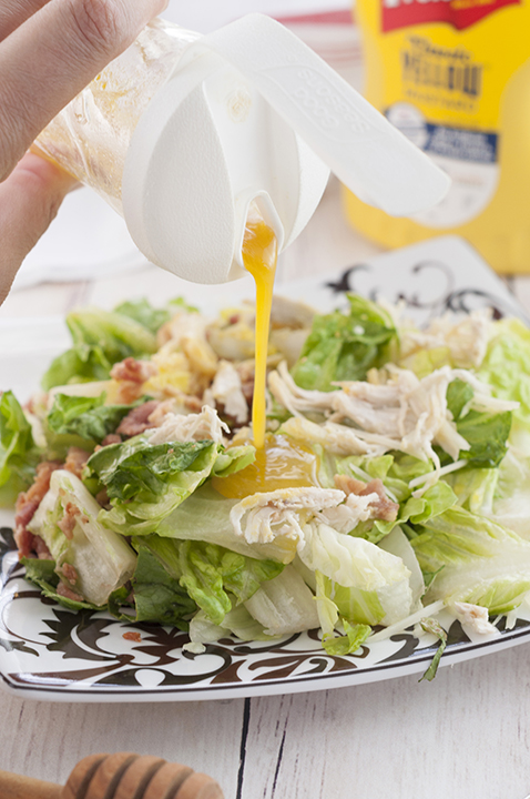 Honey Mustard Salad Dressing recipe great for any salad!