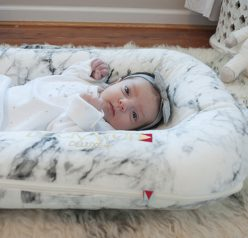 DockATot Sleeper Review: A Must-Have for Moms for a safe place for your baby to lounge and a great baby shower gift idea!