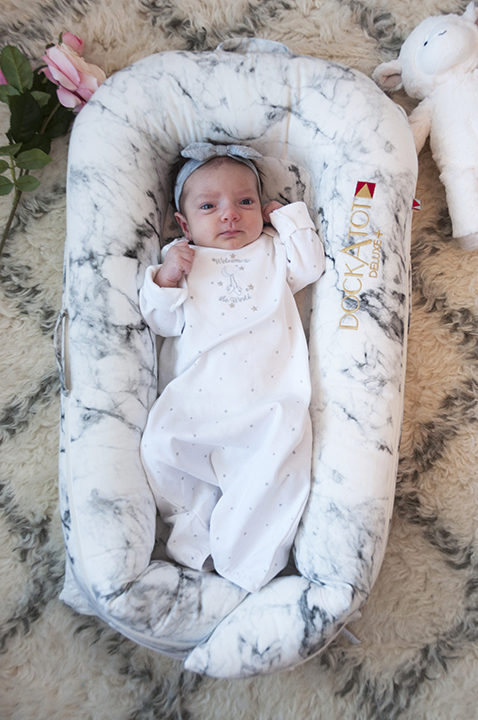 DockATot Co-Sleeper Product Review: A Must-Have for Moms for a safe place for your baby to lounge and a great baby shower gift idea!