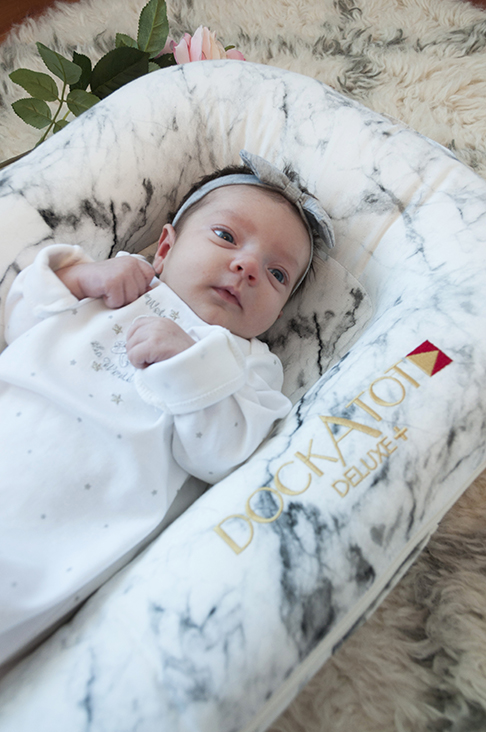 DockATot Co-Sleeper Product Review: A Must-Have for Moms for a safe place for your baby to lounge and a great baby shower gift idea for a new mom!