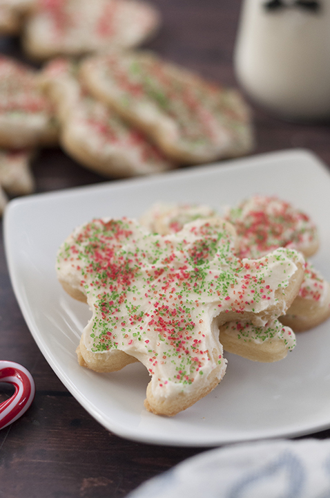 Tips on making my Favorite Holiday Cut-Out Sugar Cookies recipe for super soft cut-outs I've been using since I was a little kid. You won't find a better way of making them for Christmas or any special occasion!