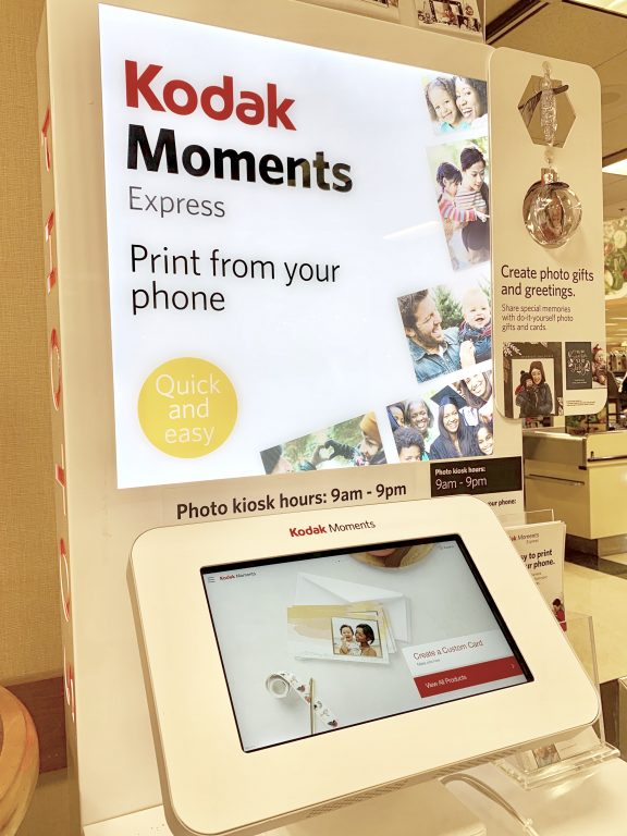 Kodak Moments Kiosk, Wegmans, Greece NY