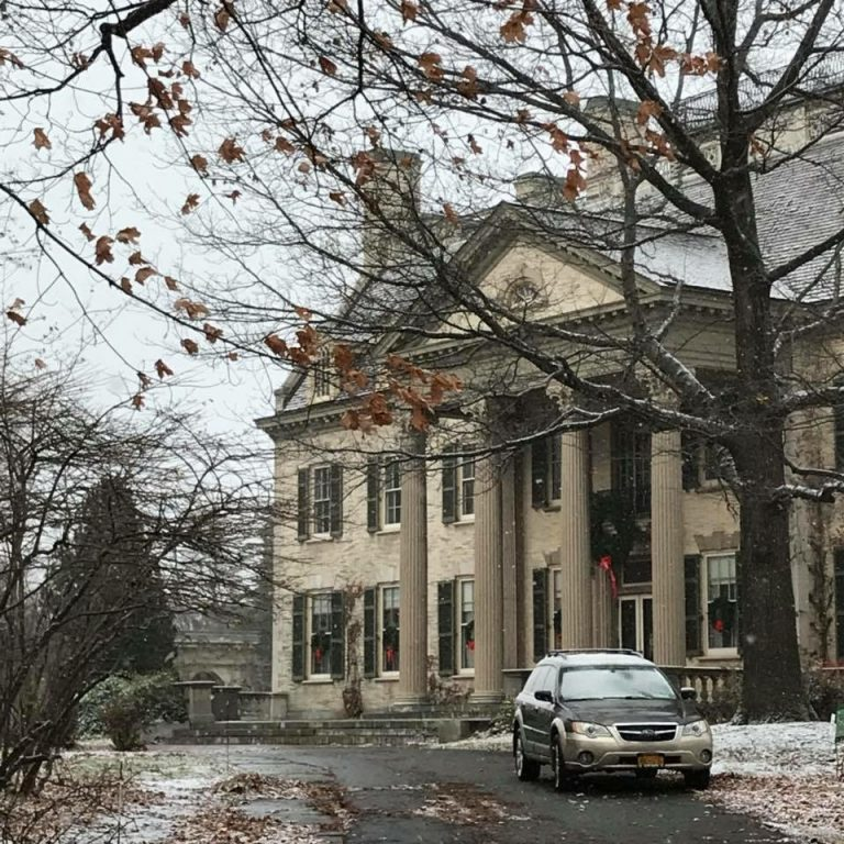 The George Eastman Kodak house in Rochester, New York.