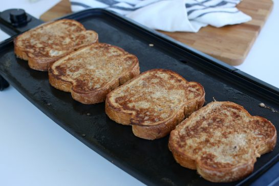 Perfectly cooked french toast recipe.