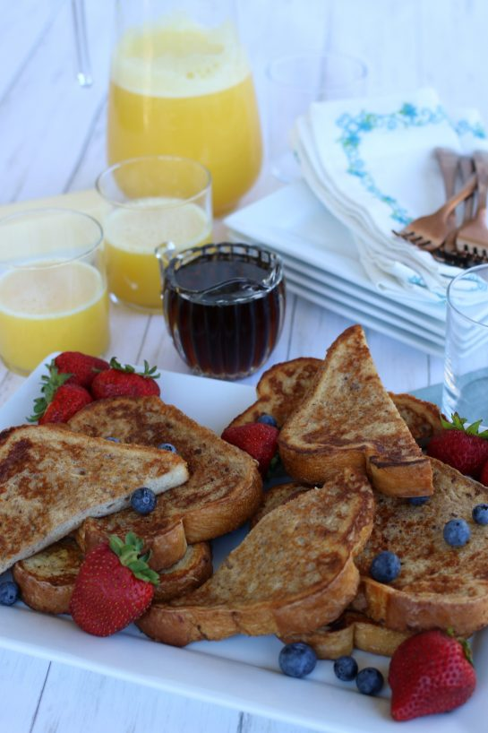 A french toast recipe for the entire family.