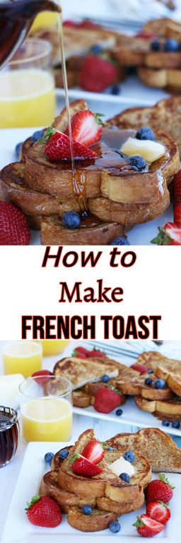 Learning how to make French toast is not about secret ingredients or special tools. Let me show you how to make this incredibly indulgent breakfast and brunch staple!