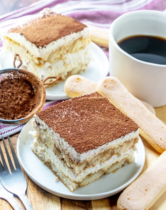 Traditional Grandma's Tiramisu is an authentic classic coffee-flavored Italian dessert idea for the Thanksgiving, Easter and Christmas. This is one of my favorite desserts for any occasion!