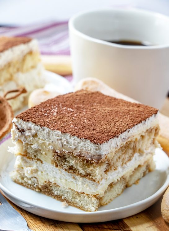 Grandma's Tiramisu is an authentic classic coffee-flavored Italian dessert idea for the holidays. This is one of my favorite desserts and is actually pretty simple to make, just takes some time!