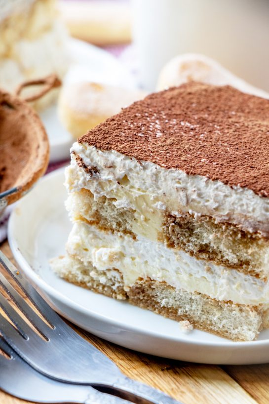 Traditional Grandma's Tiramisu is an authentic classic coffee-flavored Italian dessert idea for the Thanksgiving and Christmas. This is one of my favorite desserts and is actually pretty simple to make!