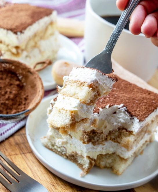 Traditional, easy Grandma's Tiramisu is an authentic classic coffee-flavored Italian dessert idea for the holidays. This is one of my favorite desserts and is actually pretty simple to make, just a bit of a time investment.