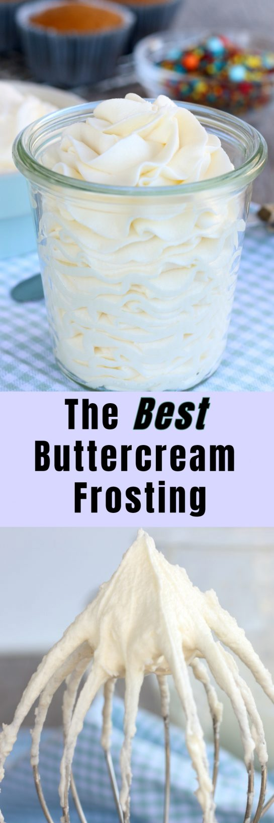 A great buttercream frosting recipe is a must. This is the best buttercream frosting! Let me show you how to make buttercream frosting.