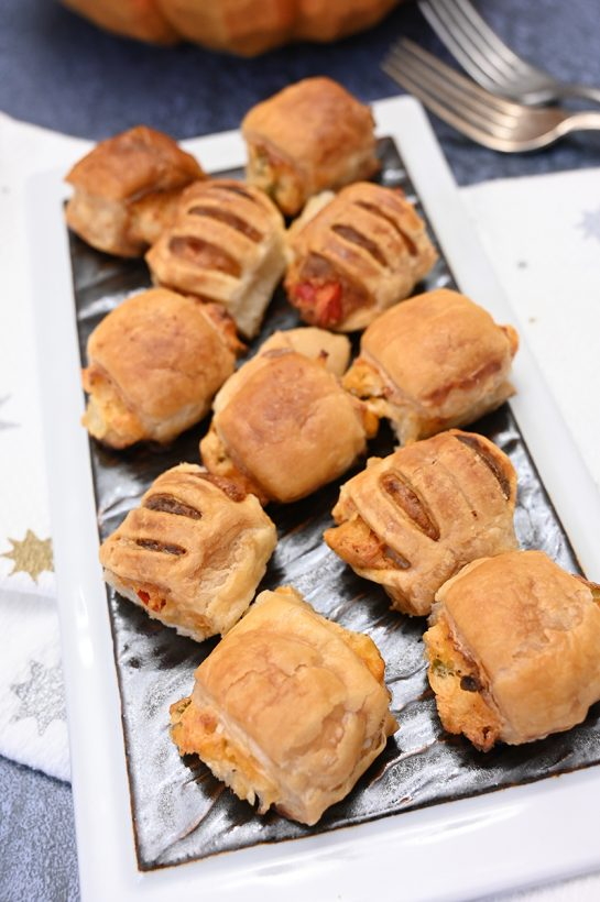 Puff pastry bites at BJ's Wholesale Club