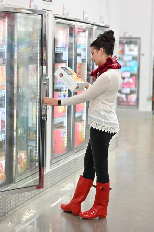 Shopping for frozen appetizers at BJ's Wholesale Club