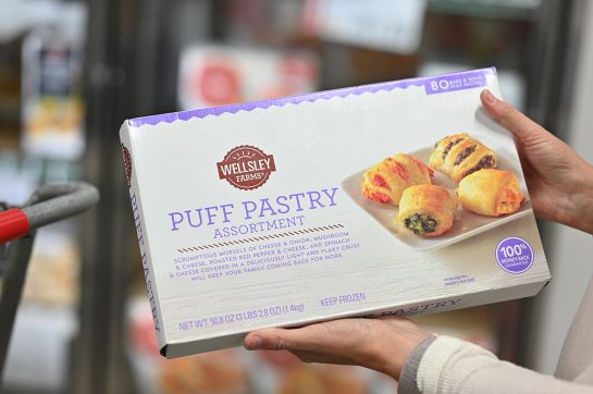 Puff pastry assortment at BJ's Wholesale Club
