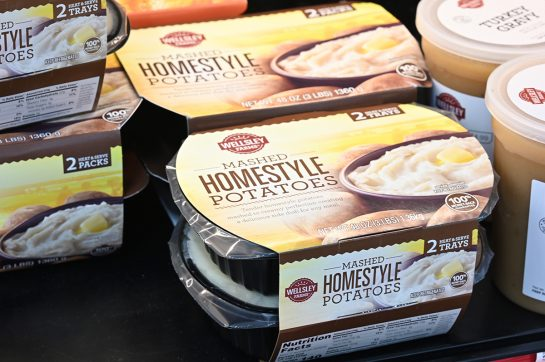 Homestyle mashed potatoes at BJ's Wholesale Club