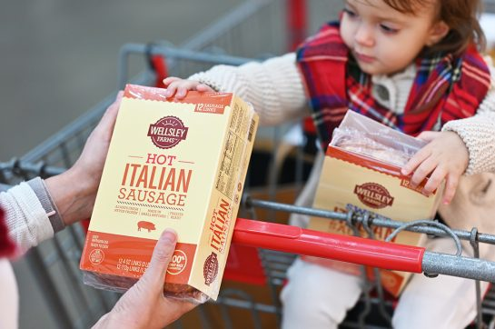Wellsley Farms Hot Italian Sausage at BJ's Wholesale Club