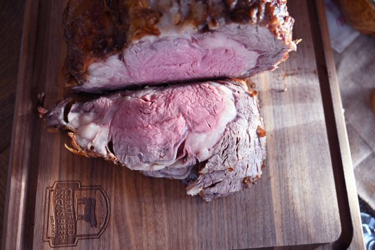 Christmas Perfect Prime Rib Roast comes out extremely tender, unbelievably juicy, and is the perfect roast to serve for the holiday season or special occasion!