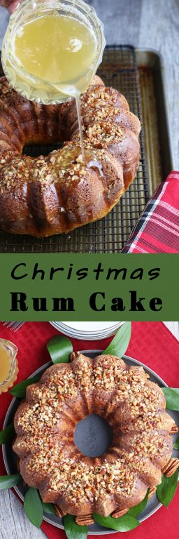 Making a rum cake is a fun holiday tradition but rum soaked cake is delicious year round! I'll show you how easy it is to make a Bacardi rum cake and a rum cake glaze. It will be a fast family favorite.