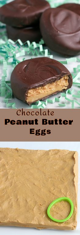 Making peanut butter eggs is easy and fun! This is a great recipe for peanut butter eggs that even kids can make! If you like Reese's Eggs you should try this homemade chocolate peanut butter eggs recipe, it'll blow your mind!