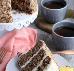 Homemade Hummingbird Cake is a beloved, classic southern cake recipe packed with banana and pineapple that looks so impressive for, Easter, Mother's day, or birthday party!
